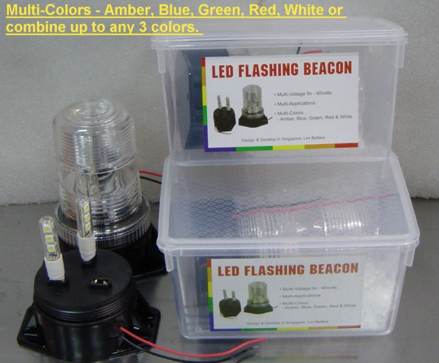 Lights Leds Flashing Beacon Led Strip Amp Signal Stop